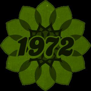 1972 retro flower