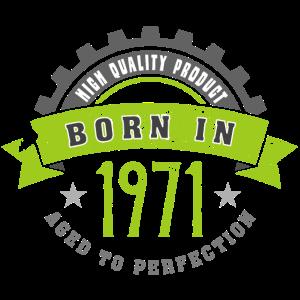 Born in the year 1971 b