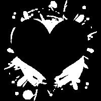 Herz Splatter
