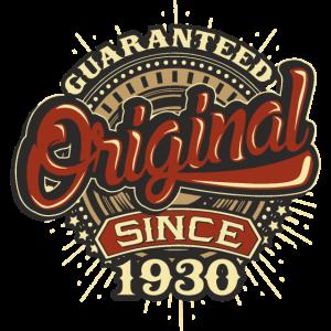 Birthday guaranteed since 1930