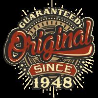 Birthday guaranteed since 1948