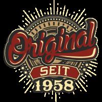 Geburtstag Original seit 1958