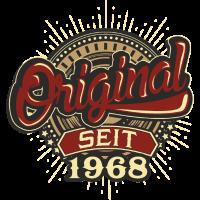 Geburtstag Original seit 1968