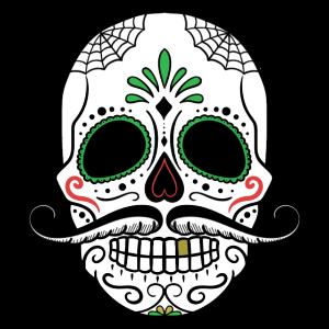 Totenkopf Tag der Toten Halloween Geschenk