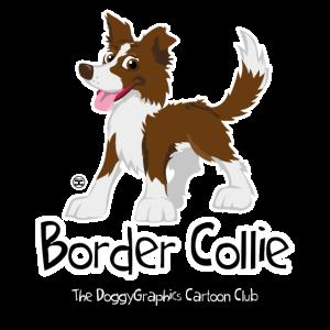 CartoonClub BorderCollie Brown
