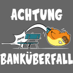 Banküberfall (white)