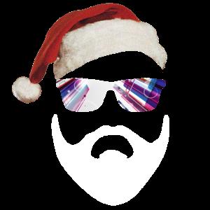 Santa Hipster - Weihnachtsmann Xmas Geschenk