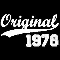 Original 1978 Geburtstag Jahre Geschenk T-Shirt