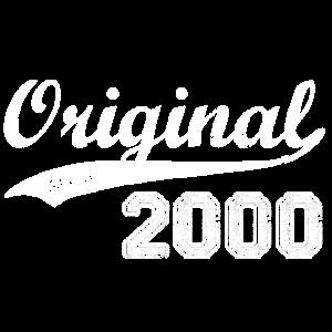 Original 2000 Geburtstag Jahre Geschenk T-Shirt