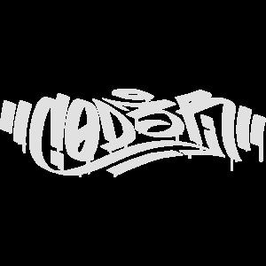 C0D3R - Hacker Graffiti Tag