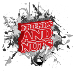Friends and Nuts Logo Red
