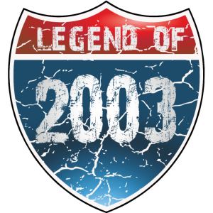 Legend Of 2003