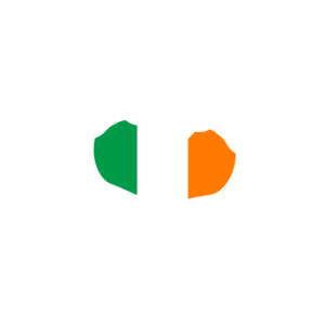 Ich liebe Irland - Herz Hände