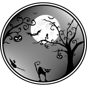 Halloween Landschaft