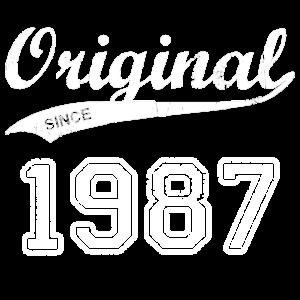 Original 1987 Geburtstag Jahre Geschenk T-Shirt