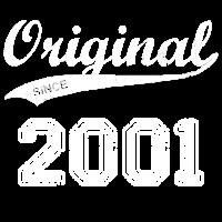 Original 2001 Geburtstag Jahre Geschenk T-Shirt
