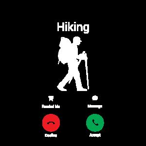 Wandern ruft mich! Hiking Wanderer Hiking Geschenk