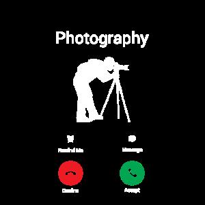 Fotografie Ruft an! Fotograf Geschenk