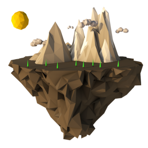Low Poly Insel