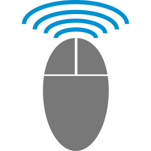 Maus Computermaus Wifi Infrarot 2c