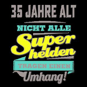 NEON Design für Superhelden - 35 Jahre alt - Ges