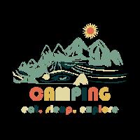 Camping. Eat.Sleep.Explore
