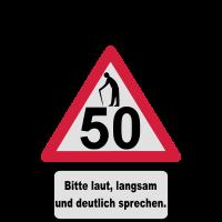 50. Geburtstag – Achtung, langsam sprechen (3f)