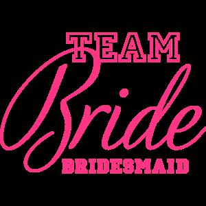 Team bridesmaid