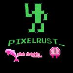 PixelRust logo