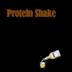 Whiskey protein shake