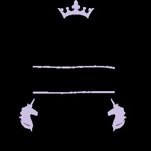 Prinzesin hat Einhorn gefunden JGA