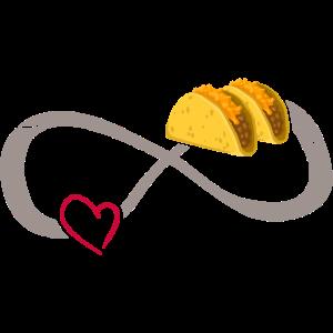 Unendliche Liebe ∞ Ich liebe Tacos & Quesadilla