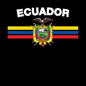Ecuadorianischer Flag Shirt - Ecuadorean Abzeichen & Ecuado
