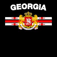 Georgian Flag Shirt - Georgian Abzeichen & Georgia Fl
