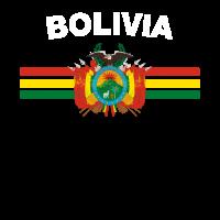 val2 Flag Shirt - val2 Abzeichen & Bolivien-Flaggen-Hemd
