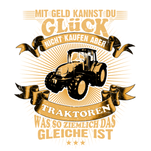 Landwirt-T-Shirt Glück vs. Traktor kaufen