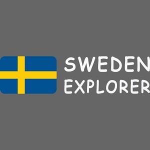 SWEDEN EXPLORER white-lettered