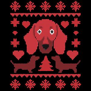 Dackel Weihnachten