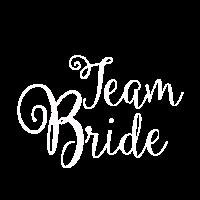 Braut JGA Team Bride poltern Jungesellinnenabschie
