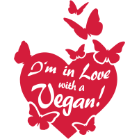 I'm in Love with a Vegan! - butterflies
