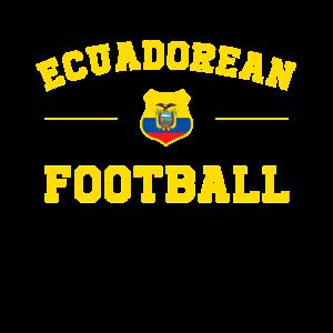 Ecuador-Fußball-Hemd - Ecuador Fußball-Trikot