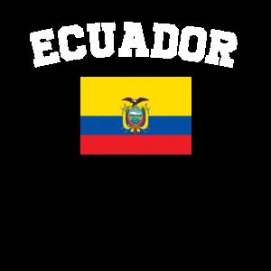 Ecuadorianischer Flag Shirt - Vintage Ecuador T-Shirt