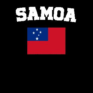 Samoan Flag Shirt - Vintage Samoa T-Shirt
