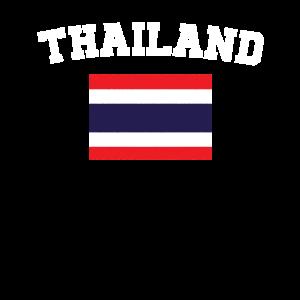 Thai Flag Shirt - Vintage Thailand T-Shirt