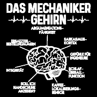 Das Mechaniker Gehirn Geschenk - Das Mechaniker Gehirn. Ideales Geschenk - Schrauber,Mechaniker,Geschenk