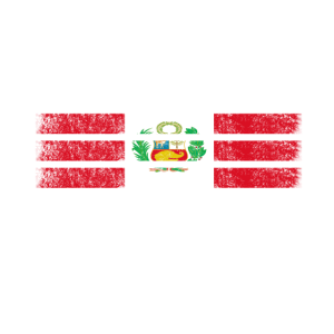 Peruanische amerikanische Flagge - USA Peru Hemd