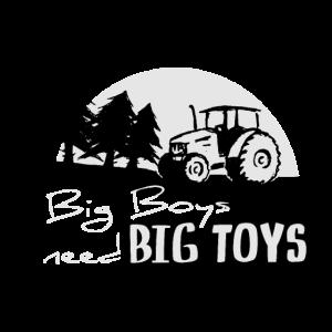 Traktor Trekker großes Spielzeug Männer Landwirt
