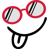 Kühle Sonnenbrille