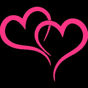 Zwei Herzen wahre Liebe