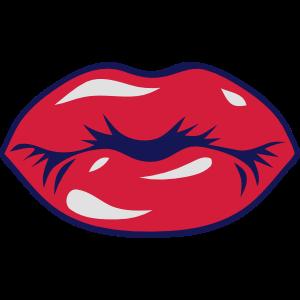 Lippen Grafik